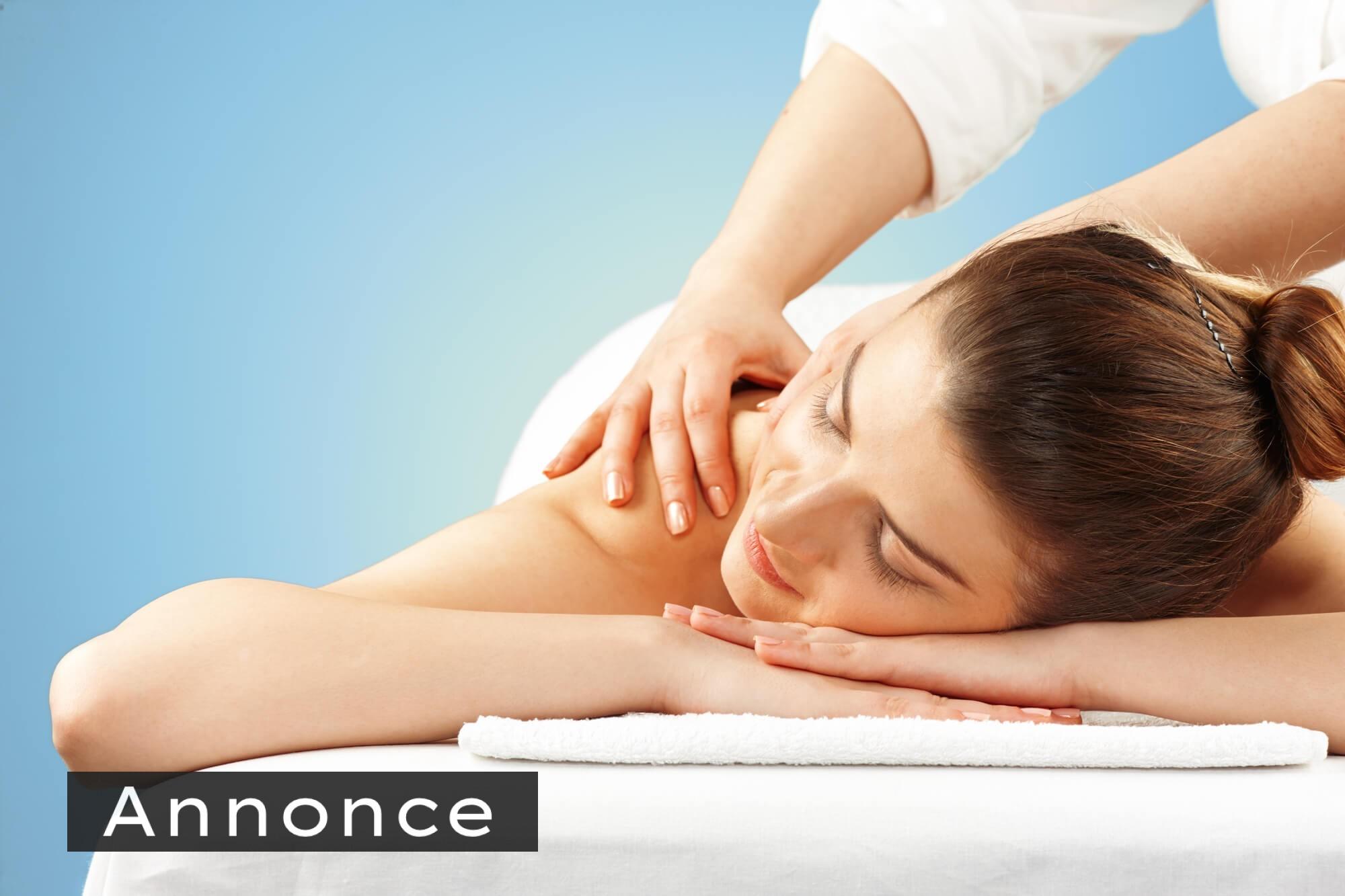 Afhjælp ømme muskler med massage