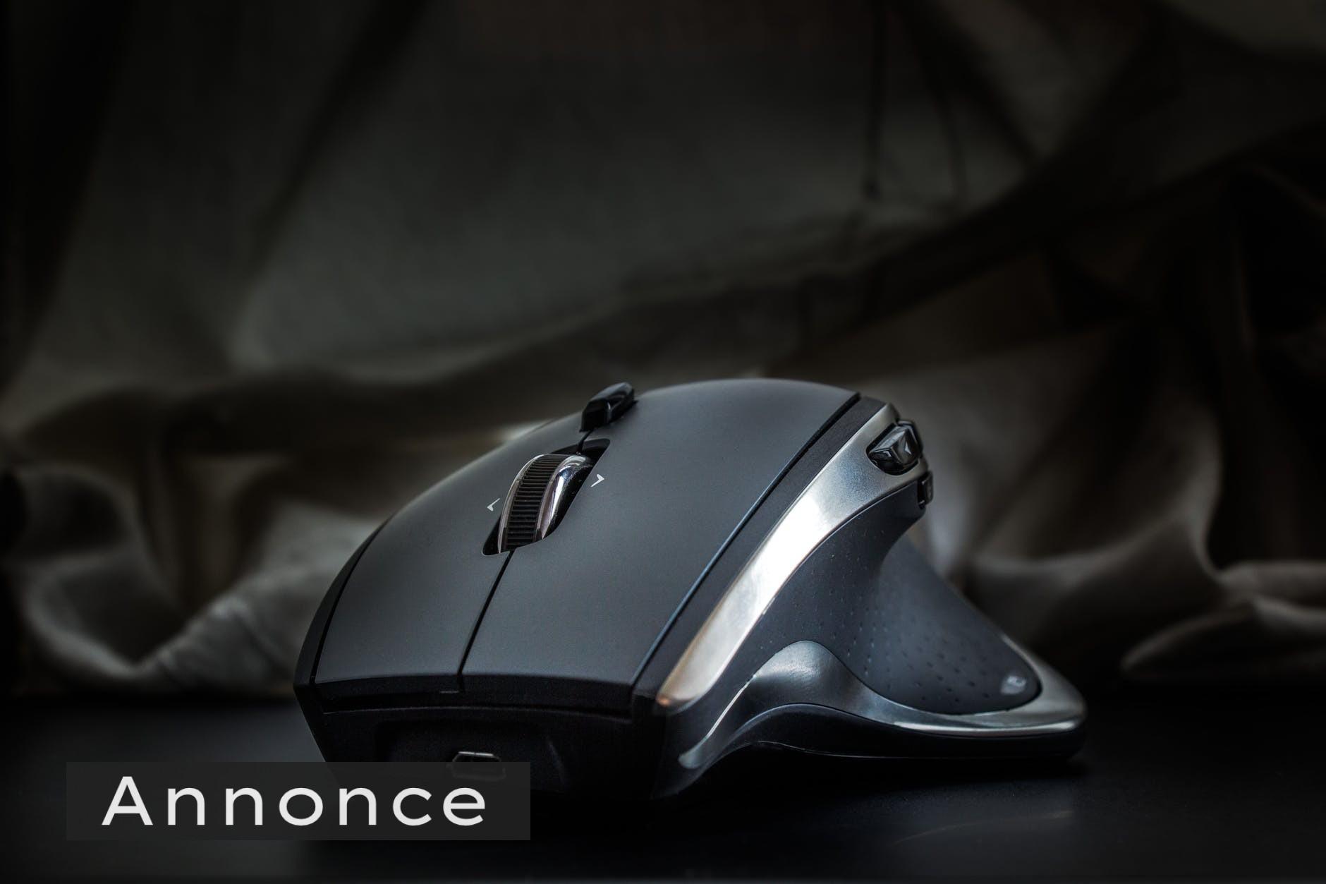 Gør din arbejdsdag nemmere ved at bruge en ergonomisk mus