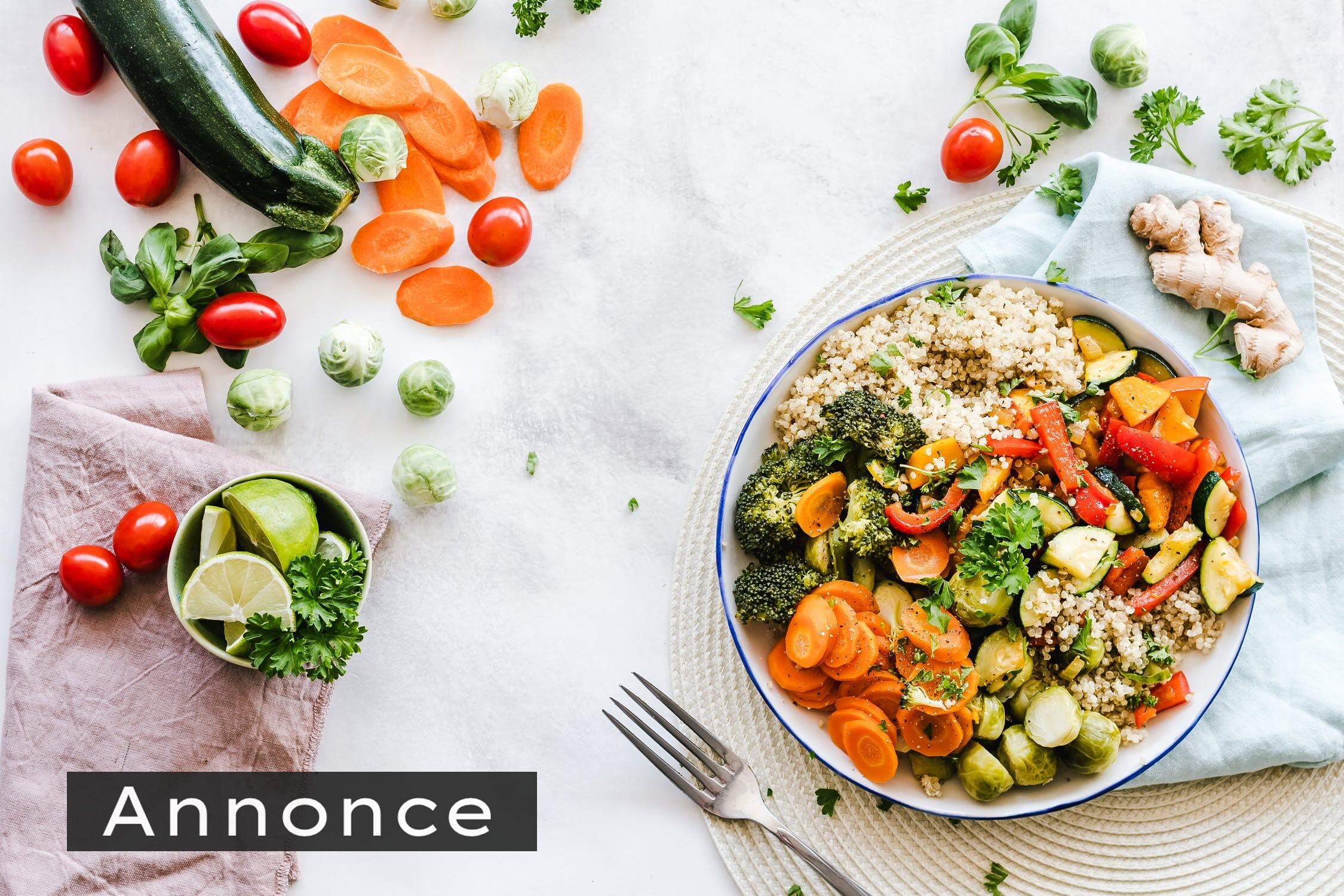En god balance er vejen til et sundt vægttab